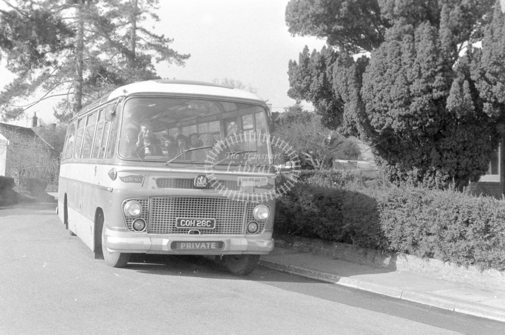 Mullens Bedford SB COH28C  in 1980 - JGS Smith