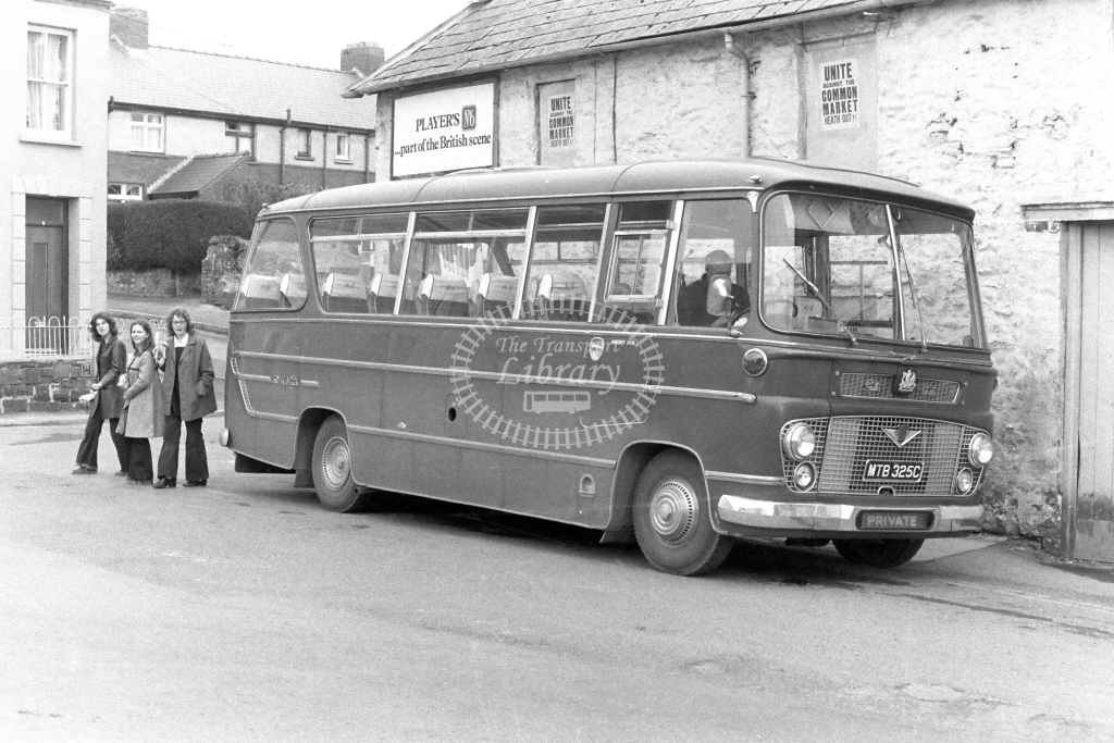 Unknown Operator Bedford VAS MTB325C  in 1970s - JGS Smith