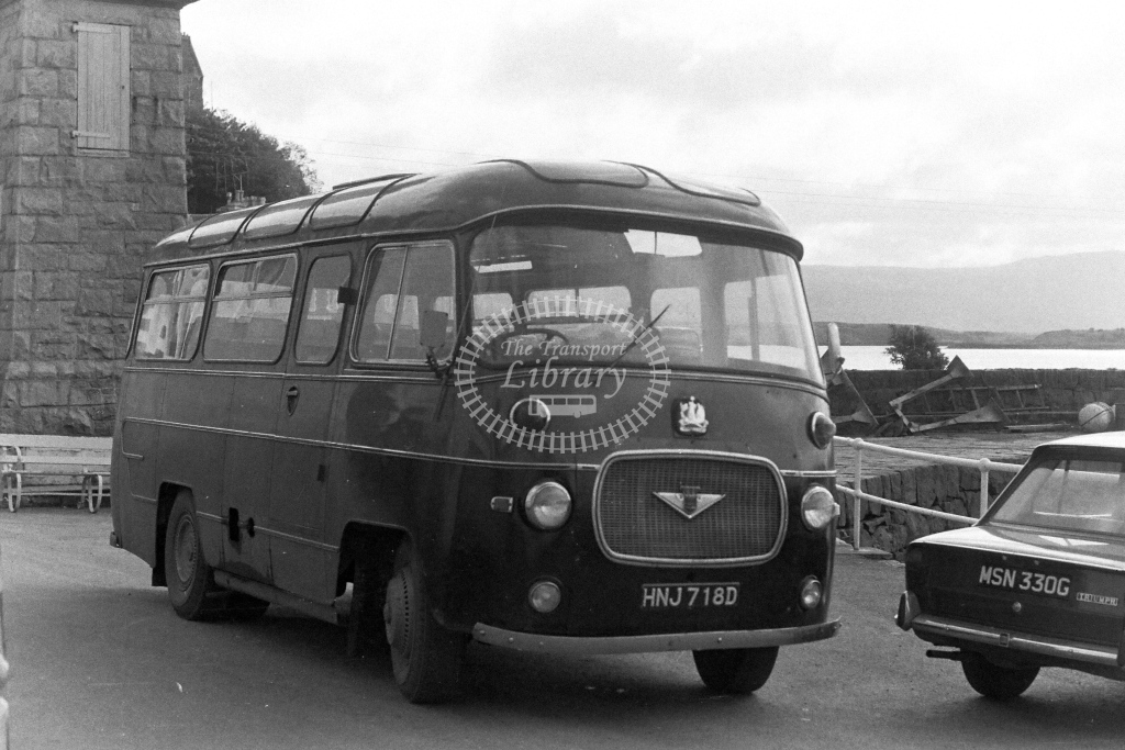 Unknown Operator Bedford J2SZ10 HNJ718D  in 1970s - JGS Smith