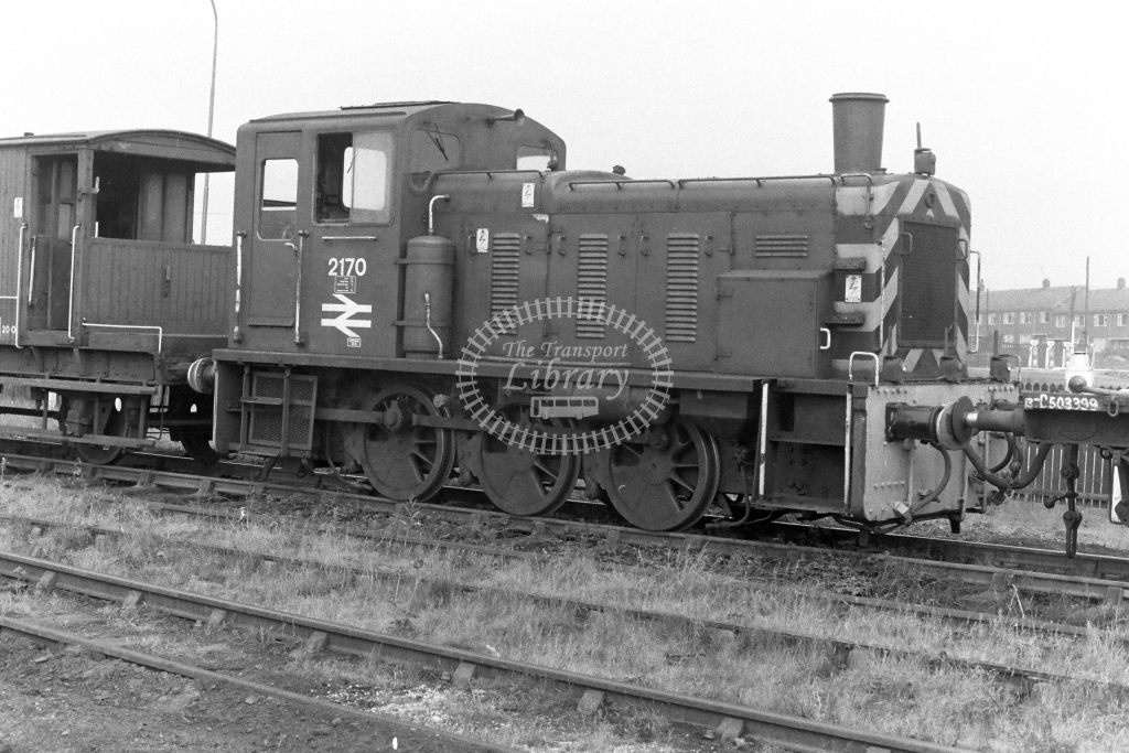 British Rail Diesel Locomotive 2170  in 1970s - JGS Smith