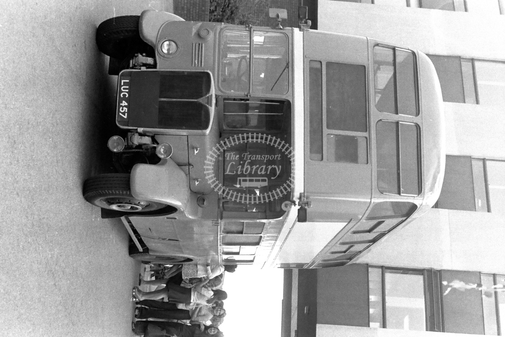Unknown Operator AEC Regent RT4108 LUC457  in 1970s - JGS Smith
