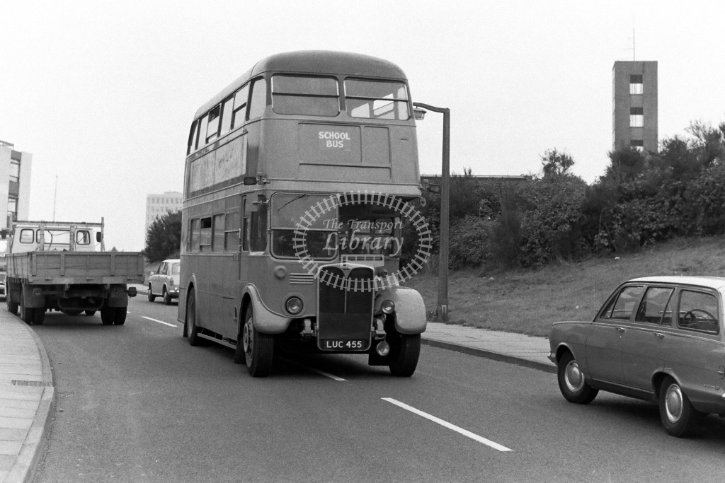 Unknown Operator AEC Regent RT4106 LUC455  in 1970s - JGS Smith