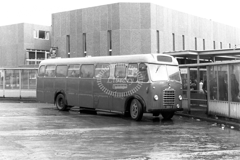 Unknown Operator Bedford SB8 ORX4  in 1970s - JGS Smith