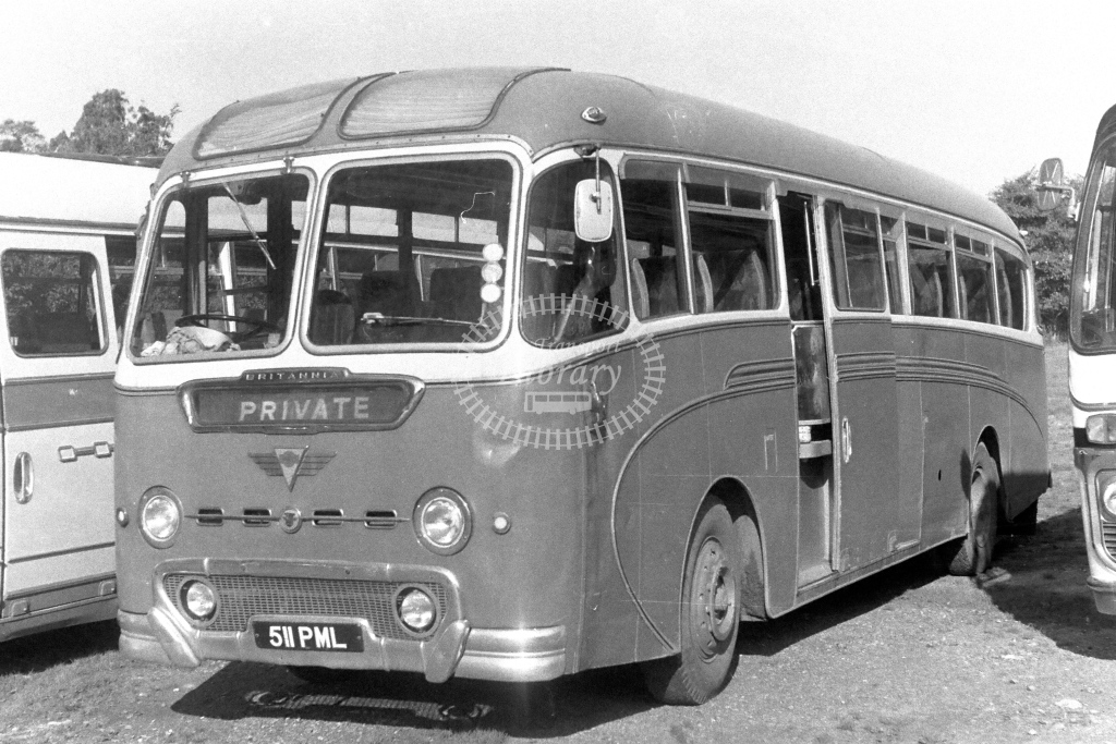 Venture, NW2 AEC Reliance 511PML  in 1970s - JGS Smith