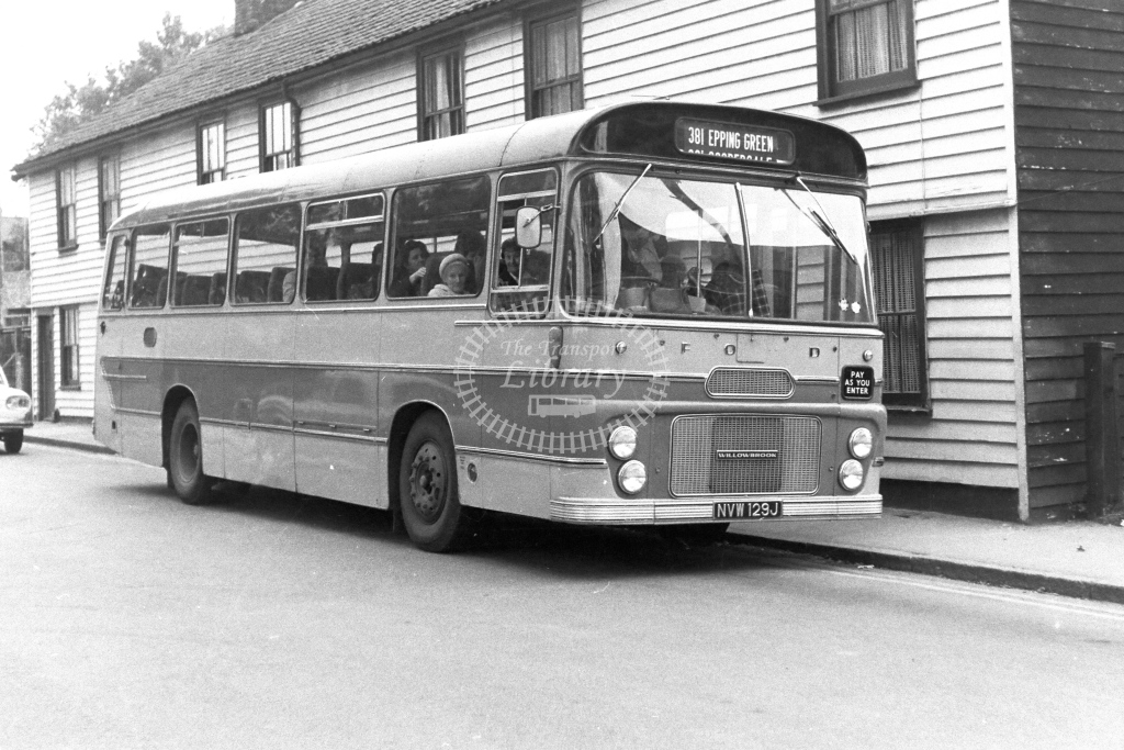 Ward Epping Ford R192 NVW129J  in 1970s - JGS Smith