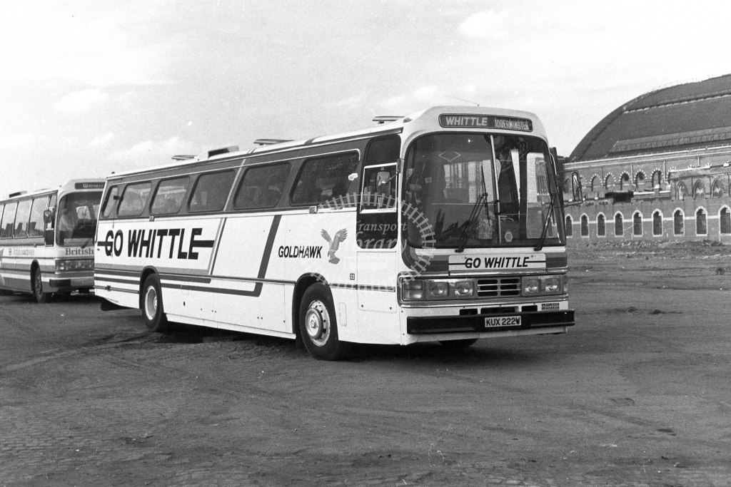 Whittle Leyland Leopard KUX222W  in 1980s - JGS Smith