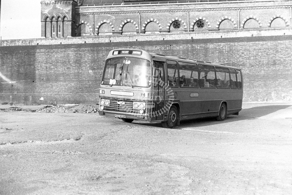 Premier Travel AEC Reliance PCE602R  in 1980s - JGS Smith