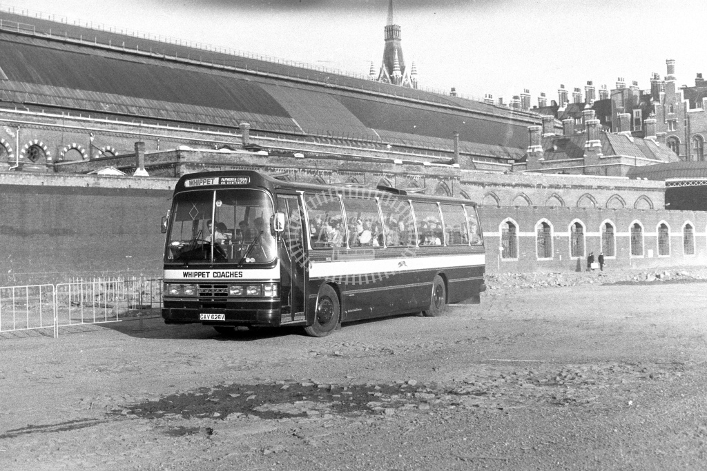 Whipper Coaches Volvo B58 CAV626V  in 1980s - JGS Smith