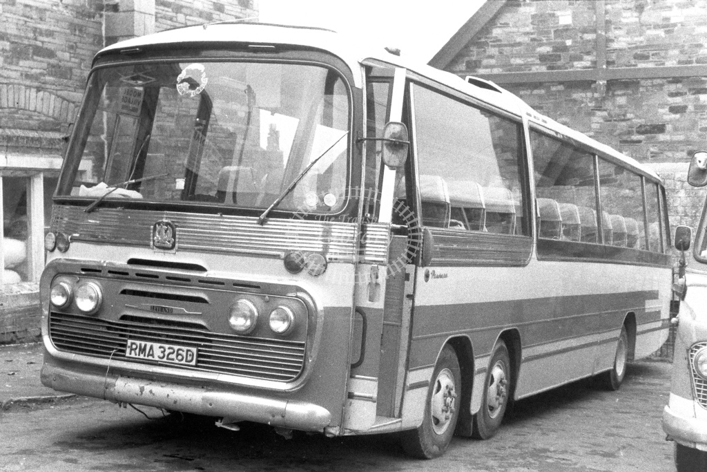 Unknown Operator Bedford VAL RMA326D  in 1980s - JGS Smith