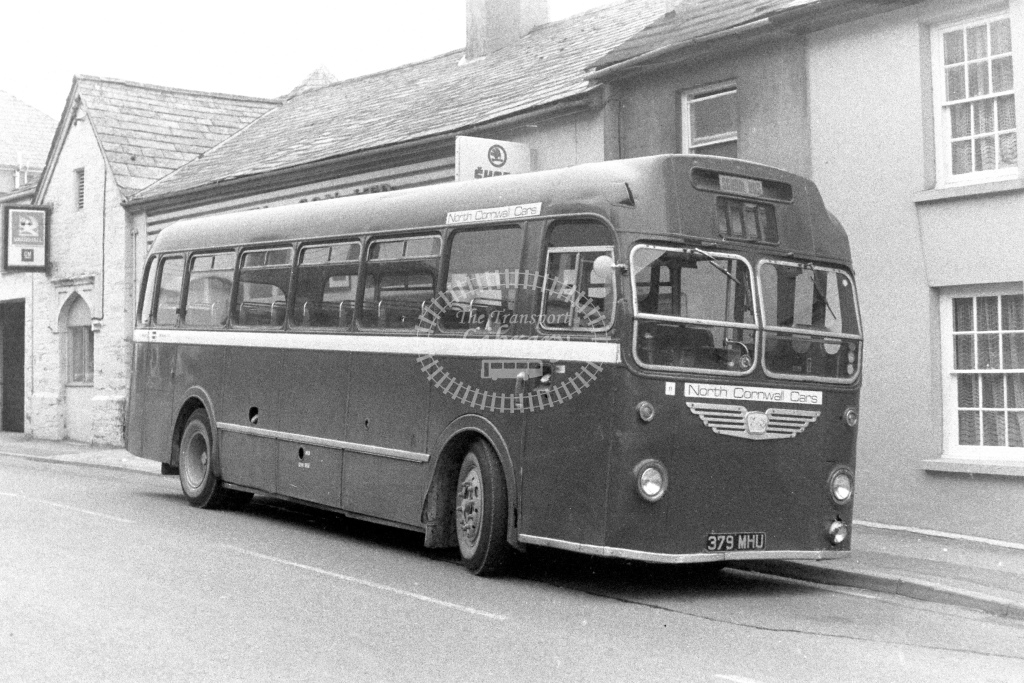 North Cornwall Cars Bristol MW5G 379MHU  in 1980s - JGS Smith