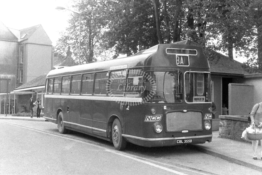 North Cornwall Cars Bristol RELL6G CBL355B  in 1980s - JGS Smith