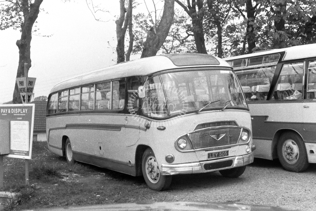 Unknown Operator Bedford SB5 LEY505  in 1980s - JGS Smith