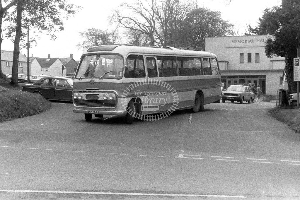 Unknown Operator Bedford SB5 DYP744J  in 1980s - JGS Smith
