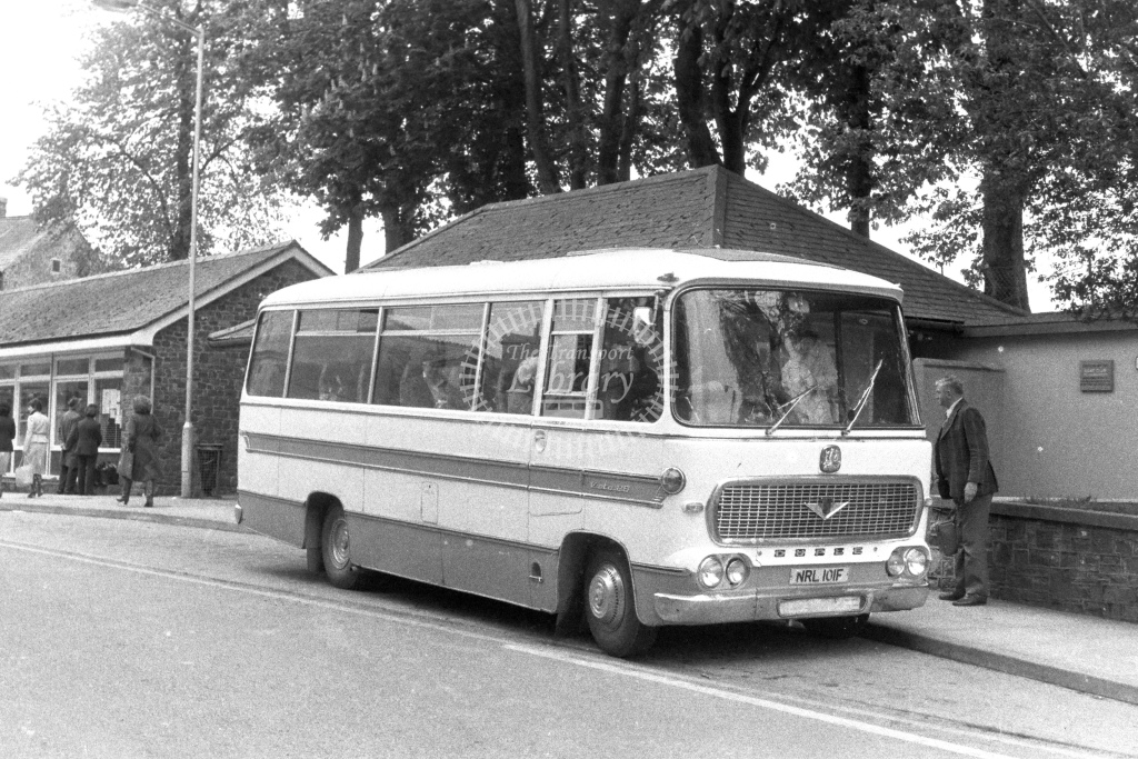 Unknown Operator Bedford VAS NRL101F  in 1980s - JGS Smith