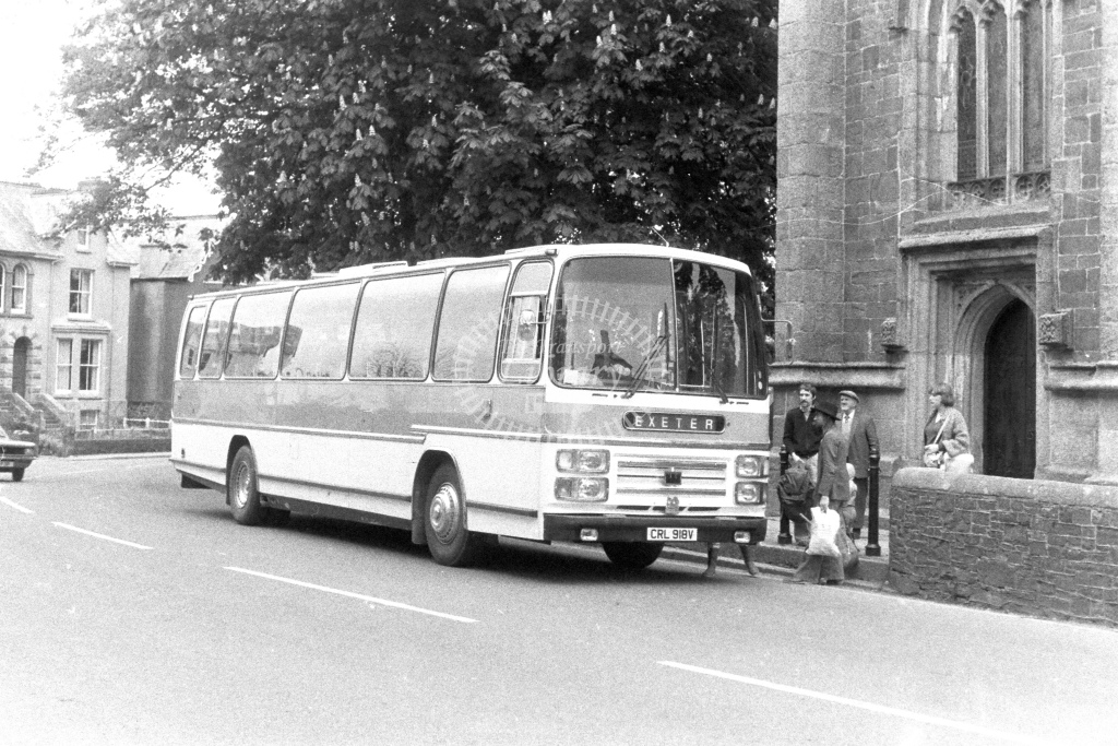 Unknown Operator Bedford YMT CRL918V  in 1980s - JGS Smith