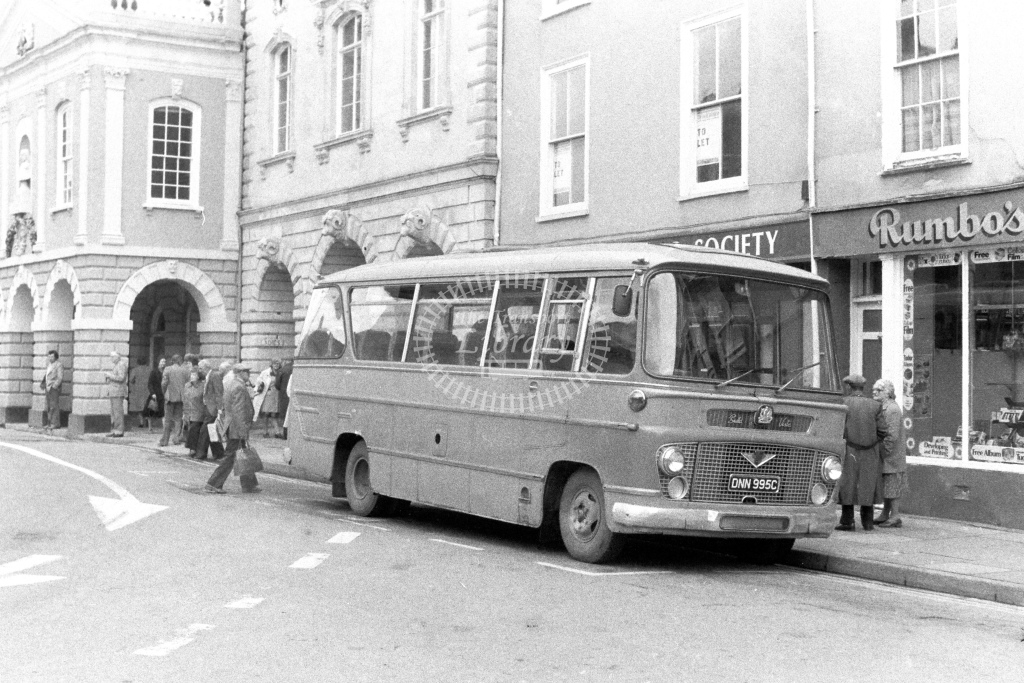 Unknown Operator Bedford VAS DNN995C  in 1980s - JGS Smith