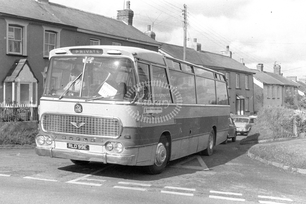 Unknown Operator Bedford VAM RLD99E  in 1980s - JGS Smith