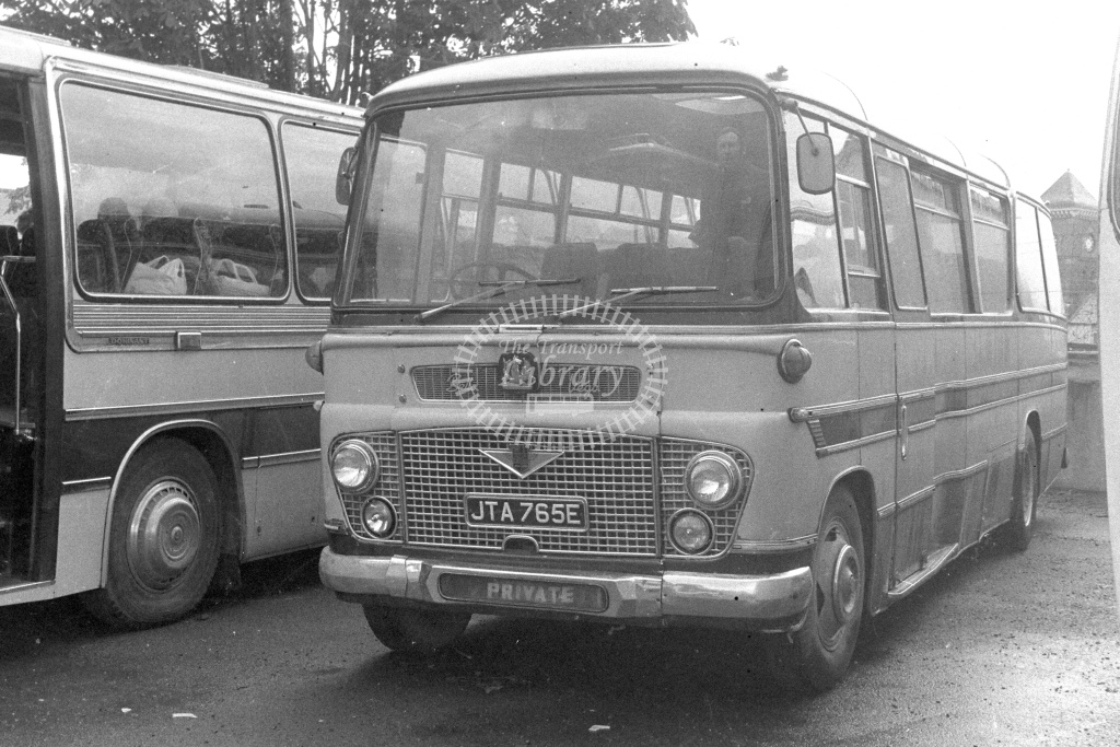 Unknown Operator Bedford SB5 JTA765E  in 1980s - JGS Smith