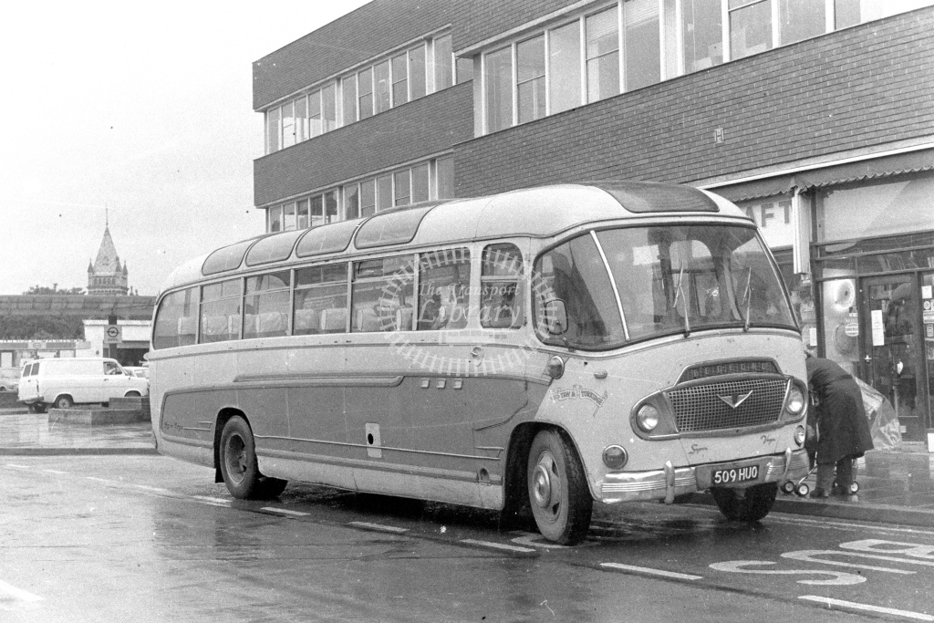 Unknown Operator Bedford SB3 509HUO  in 1980s - JGS Smith