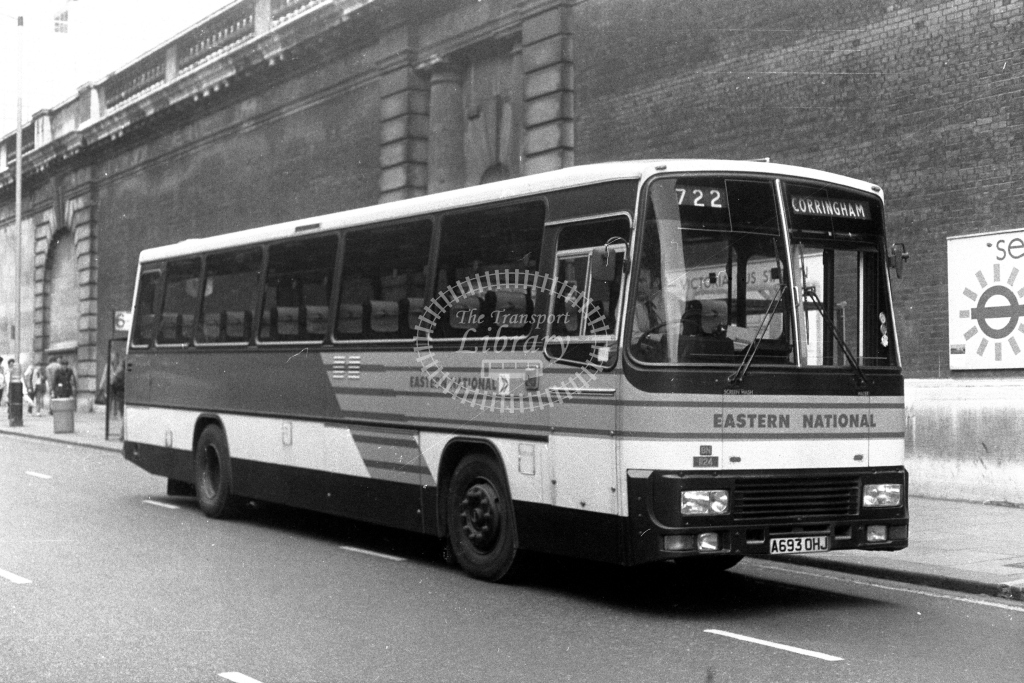 Eastern National Leyland Tiger A693OHJ  at Victoria  in 1980s - JGS Smith