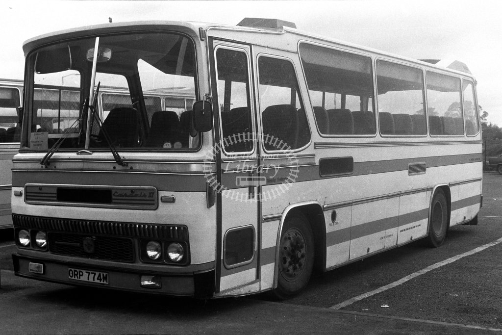 Unknown Operator Bedford YRQ ORP774M  in 1980s - JGS Smith