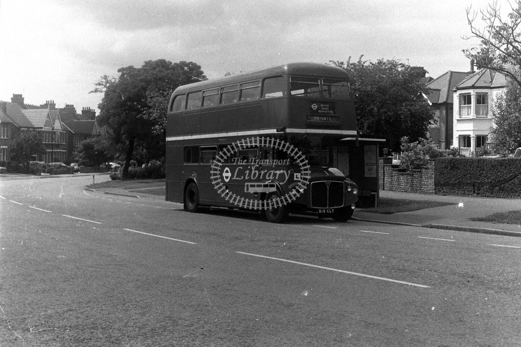 London Transport AEC Rouytemaster RMC1515 515CLT  in 1980s - JGS Smith