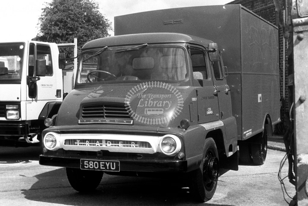 London Transport Thames Trader Service Vehicle 1282F 580EYU  in 1980s - JGS Smith