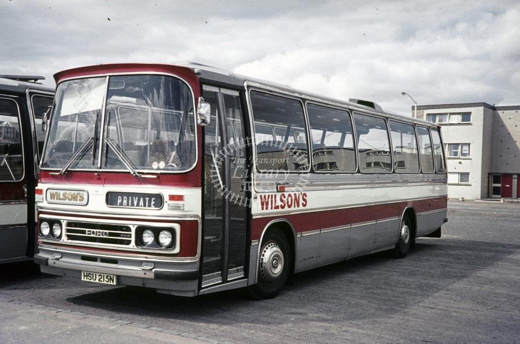 Wilson, Carnwath Ford R1114 HSU215N  at not recorded  in 1975 - May - J S Cockshott