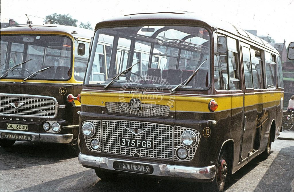 Carruthers, New Abbey Bedford VAS 12 375FGB  at Dumfries  in 1978 - Jun - J S C Archive