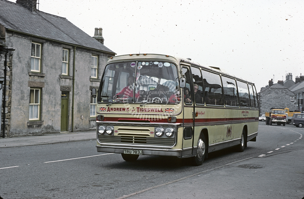 Andrew, Tideswell Ford R226 TRU783J  at Tideswell  in 1978 - Jul - J S C Archive