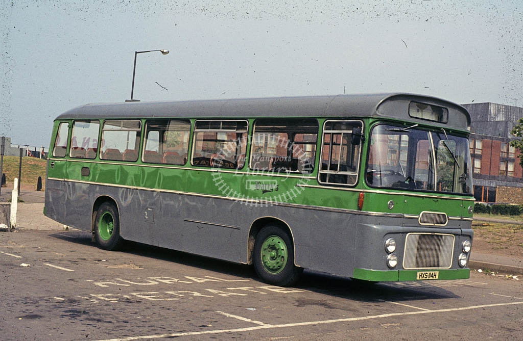 Barry, Moreton in Marsh Ford R192 HXS114M  at Straford upon Avon  in 1978 - Jul - J S C Archive