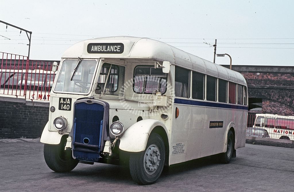 Broughton House, Manchester Bristol L5G AJA140  at Hulme Hall Rd, Mcr  in 1978 - Oct - J S C Archive