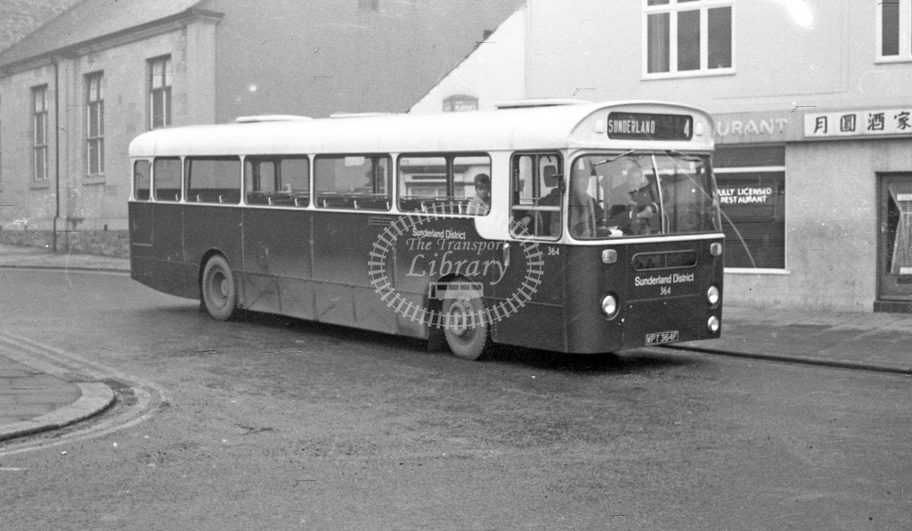 Northern General Leyland Leopard 364 WPT364F  in 1968 -  November  - JS Cockshott