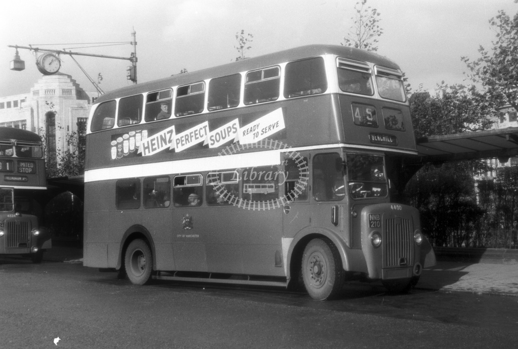 PHOTO North Western Crosville Daimler CRG6 175 DDB175C in 1969