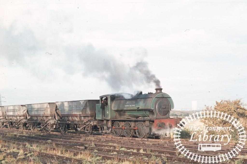 NCB National Coal Board Steam Locomotive  at Bold Colliery in 1974 - 06/10/1974 - Keith Taylorson