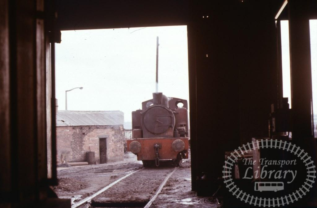 NCB National Coal Board Steam Locomotive S103  at Newmarket Colliery in 1974 - 19/03/1974 - Keith Taylorson