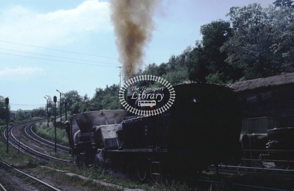 Ozd Steelworks Industrial Steam Locomotive 6  at Ozd in 1982 - 03/06/1982 - Keith Taylorson