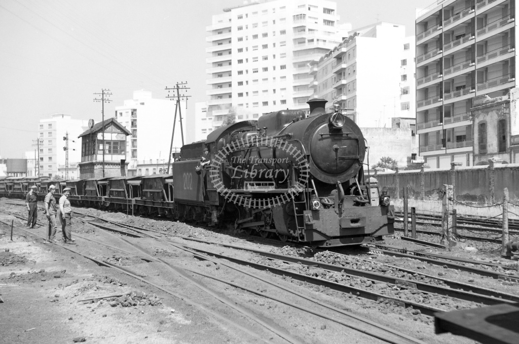 FC Huelva a Rio Tinto Steam Locomotive 202  at Rio Tinto in 1970 - 01/06/1970 - Lawrie Marshall