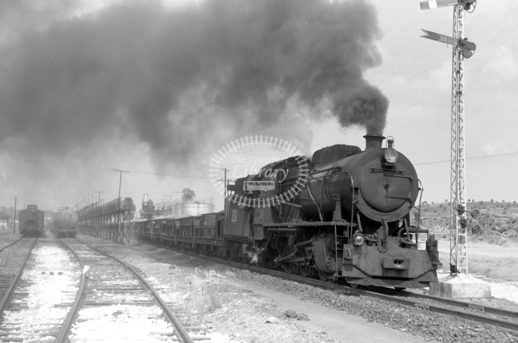 FC Huelva a Rio Tinto Steam Locomotive 201  at Las Mallas in 1970 - 03/06/1970 - Lawrie Marshall