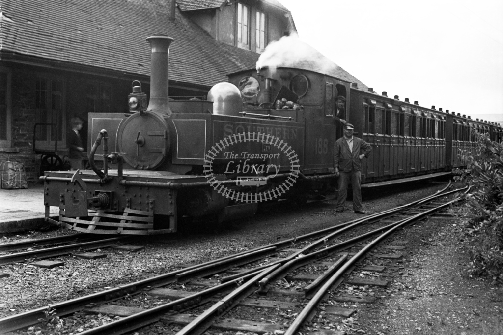 SR 188 Lew after arrival at Lynton with passenger service, circa 1934 - Lens of Sutton Association Lynton and Barnstaple
