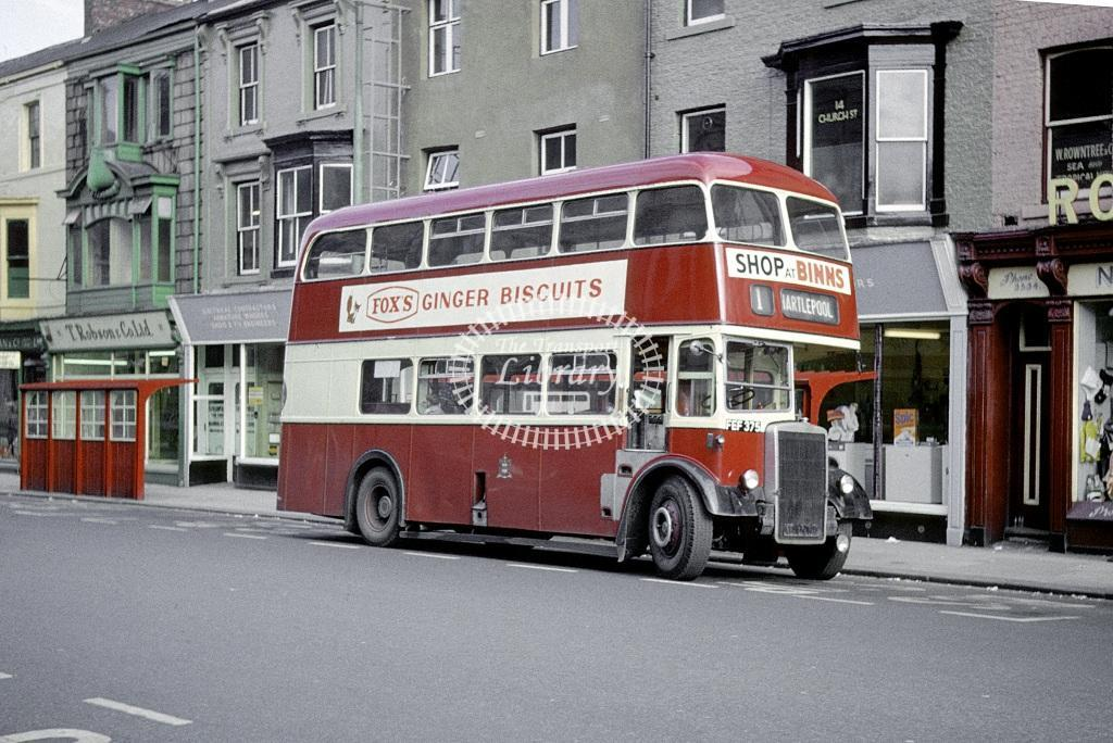 West Hartlepool Leyland PD2/40 5 FEF375 at West Hartlepool in 1962 - Aug 1962 - Roy Marshall