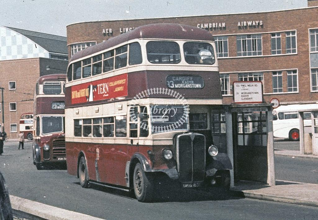 Cardiff AEC Regent III 107 DKG83 at Cardiff area in  - Roy Marshall