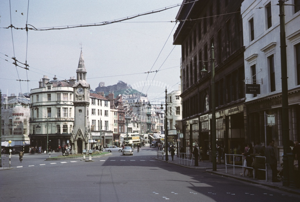 Hastings View  at Town Centre  in 1959 - May - Roy Marshall