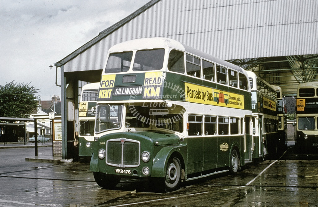 Maidstone and District AEC Regent 5485 VKR476 in Undated - Roy Marshall