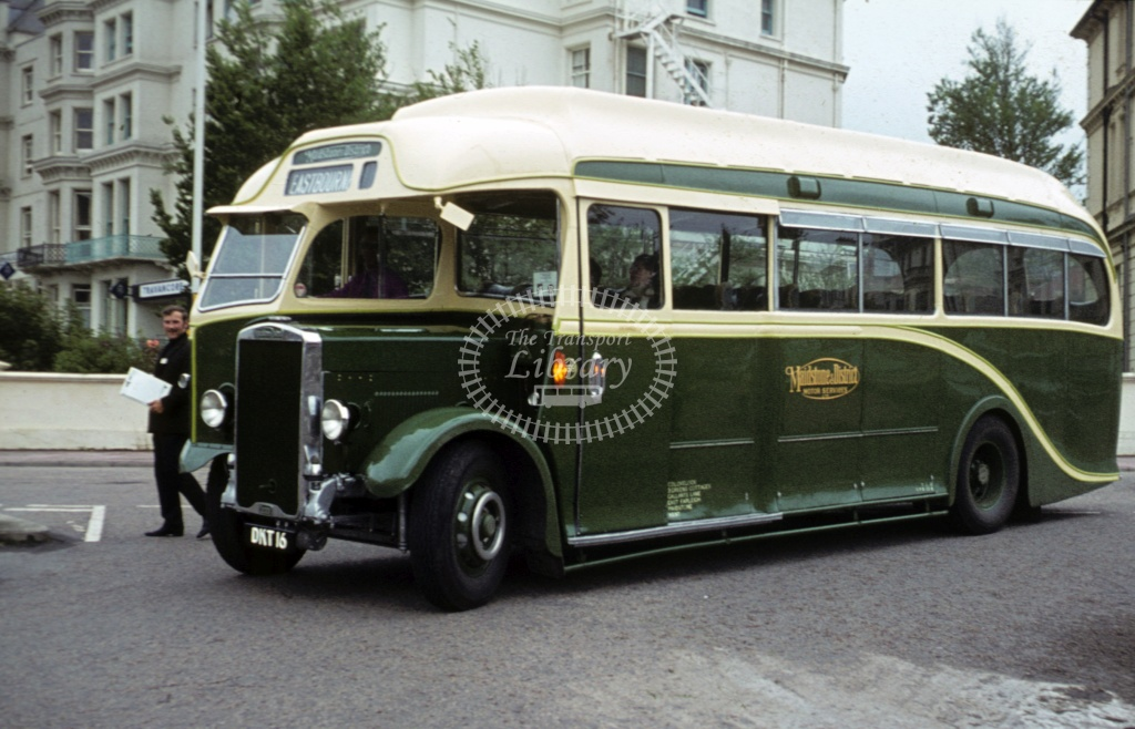 Maidstone and District Leyland TS C558 DKT16 at Eastbourne in 1972 - 26481 - Roy Marshall
