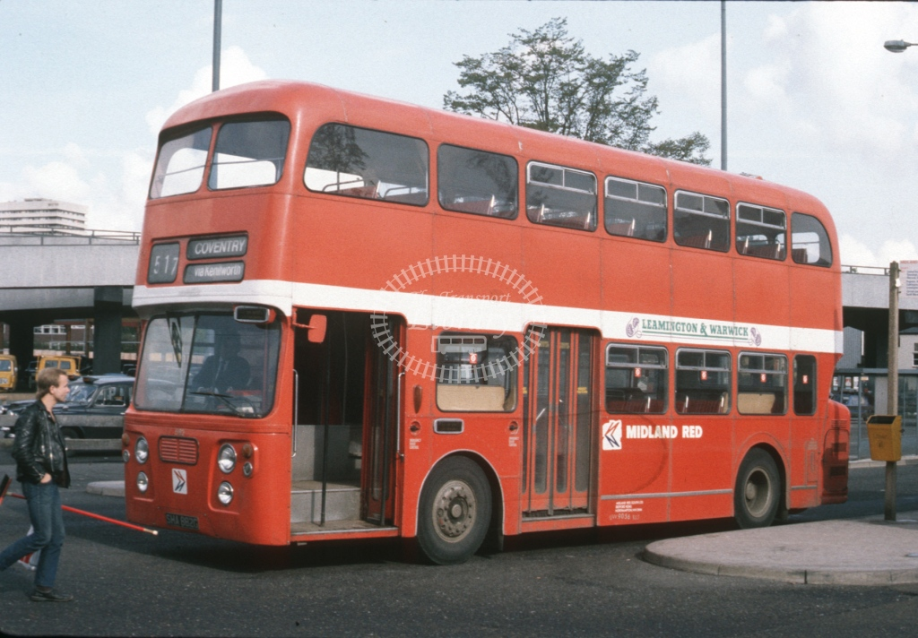 Midland Red South Daimler CRG6LX 6182 SHA682G  at Coventry  in 1984 -  Oct  - Roy Marshall