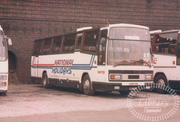 United Leyland Tiger 1036 A36FYN at Battersea in 1986 on route Unknown - 06/04/1986 - Malcolm Hyland