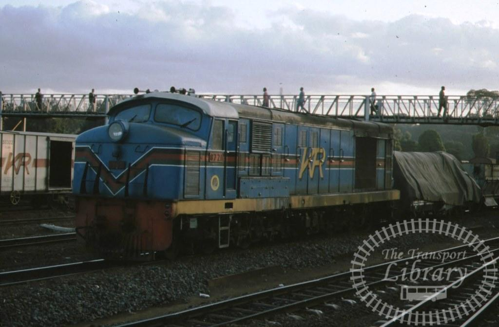 Kenya Railways Diesel Locomotive 8721  in 1992 - Mike Reynolds
