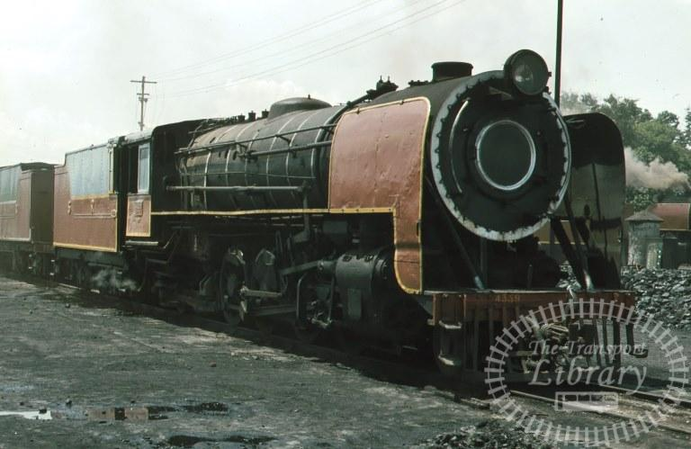Indian Railways Steam Locomotive Class YP YP 4339  at Mysore in 1981 - Mike Reynolds