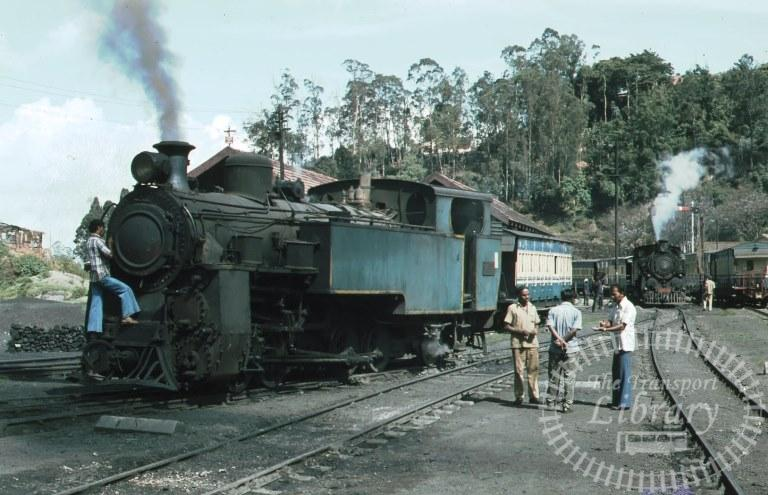 Indian Railways Steam Locomotive  at Coonor in 1981 - Mike Reynolds